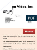 Sampa Video, Inc Case Study