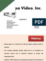 Sampa Video, Inc Case Study