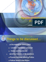 Geopolitics in Latin America