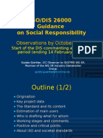 ISO 26000 (8) DIS Observations & Perspectives, By October 2009