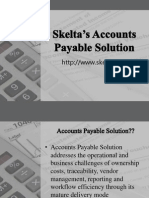 Skelta's Accounts Payable Solution