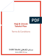 Hajj and Umrah Plan Tc en by HSBC