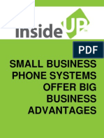 Small business phone systems offer big business advantages