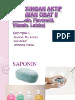 Kandungan Aktif Tanaman Obat II
