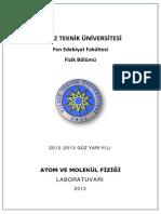 Atom-Mol Foy 2012