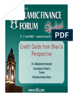 Credit Card- Sharia Perspective