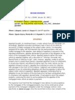 Filinvest vs Acetylene