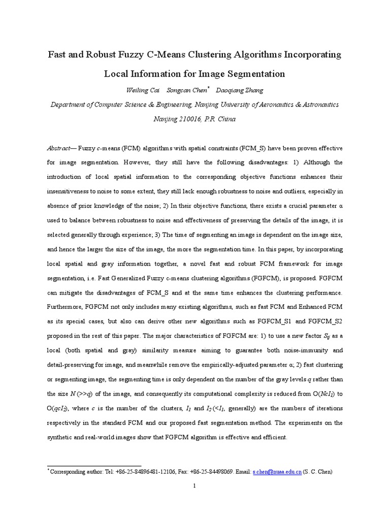 Fuzzy c Means | Image Segmentation (33 views)