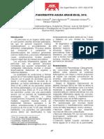 Manejo de La Pancreatitis Aguda Grave en El 2010
