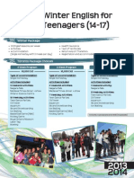 ILAC Winter Teenagers Brochure 2013-2014