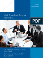 Project Mgmt-Work Breakdown Structure Information