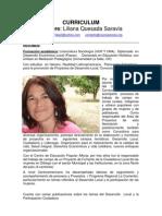 CV Liliana Quesada Shv