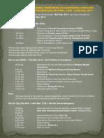 Itinerary Program Lawatan Sambil Memborong Ke China 2014