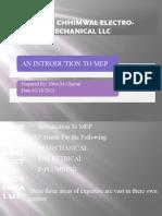 MEP Company PPT file