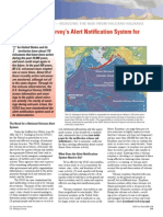 U.S. Geological Survey's Alert Notification System for Volcanic Activity