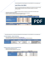 Eurospecak Price 2014