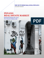 Penang Real Estate Market H1 2013