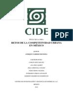 Documento de Divulgacion Indice Competitividad CIDE 2012