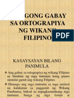 Binagong Gabay Sa Ortograpiya Ng Wikang Filipino