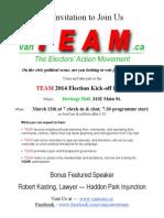 Launch Flyer, 25feb14