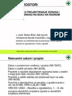 Biluš - Buka uredski prostori, obrazovne institucije