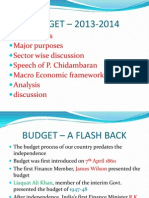 Indian budget 2013-14