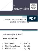 shps p3 parents meet 2014