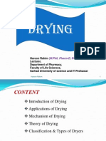 Drying Lecture