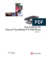 Polycom Soundstation IP7000 User Guide