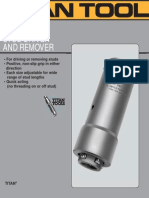 Roll Grip Stub Driver and Remover
