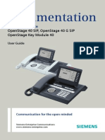 User Guide OpenStage 40
