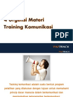 4 Urgensi Materi Training Komunikasi