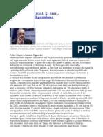 Al Sindaco Veltroni 51 Anni 9mila Euro Di Pensione