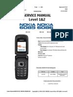Service Manual Nokia 6085