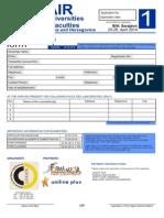 Application form (english)