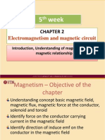 Week05 Chapter 2 Electromagnetism and Magnetic Circuit