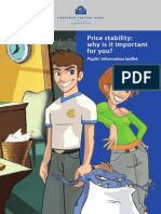 ECB Price Stability Pupil Booklet