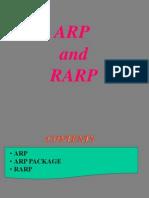ARP & RARP