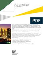MENA Tax Insight - November 2013 Edition