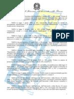 Decreto medicina in inglese