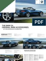 Bmw Accessories Catalogue z4 En
