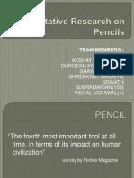 Quantitative Research on Pencil_New