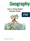 Unit 1 Going Global Revision Guide