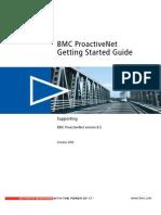BMC ProactiveNet Getting Started