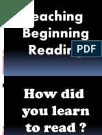 3.Presentation Beginning Reading. Tip Julie
