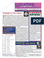 ASTROAMERICA NEWSLETTER DATED DECEMBER 31, 2013