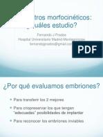 Fernando Prados - Parámetros morfocinéticos - II Simposio Reproducción Asistida Quirón