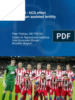 Peter Plateau - LH-hCG Effect in Human Assisted Fertility - II Simposio Reproducción Asistida Quirón