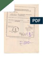 Certificat G