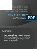 Nonalcoholic Beverages
